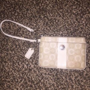 Coach Wristlet (Real and Authentic)